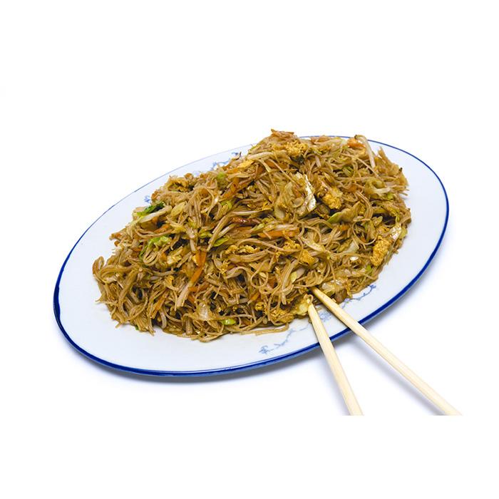 Цена 5.90 лв. за Спагети ФАН КАН със зеленчуци и яйце в категория Оризови спагети от Ресторант Класико в София