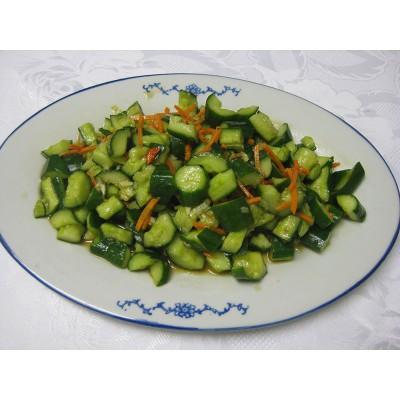3. Пресни краставици със соев сос - 400гр.