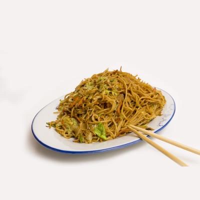 43. Пържени спагети със зеленчуци и яйце - 750гр.
