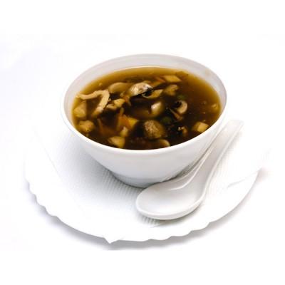 18. Супа с пилешко месо и зеленчуци - 300мл.