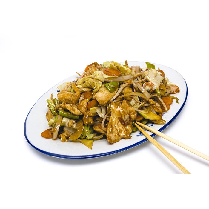 Цена 8.50 лв. за Пилешко със зеленчуци в категория Ястия от пилешко месо от Ресторант Класико в София