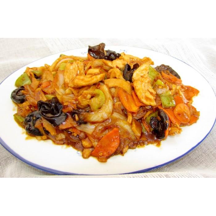 Цена 8.90 лв. за Пилешко по Съчуански в категория Ястия от пилешко месо от Ресторант Класико в София